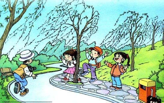 一年级语文下册第一课 :《柳树醒了》